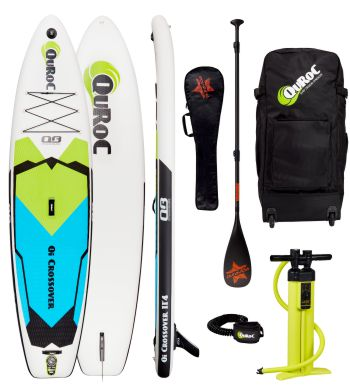 Inflatable Paddle Board Quroc Qi Crossover 11 4