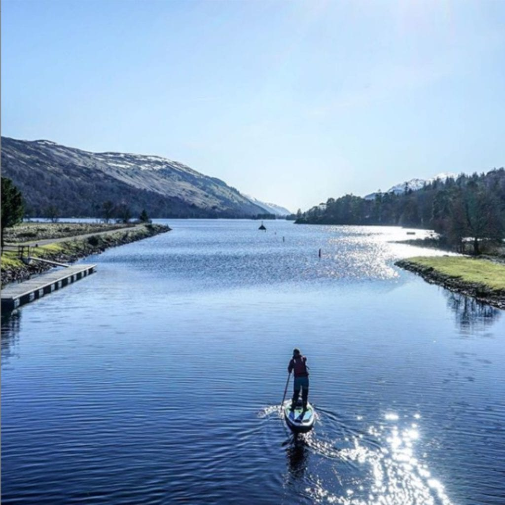 Paddle Boarding Near Me Caledonian Canal