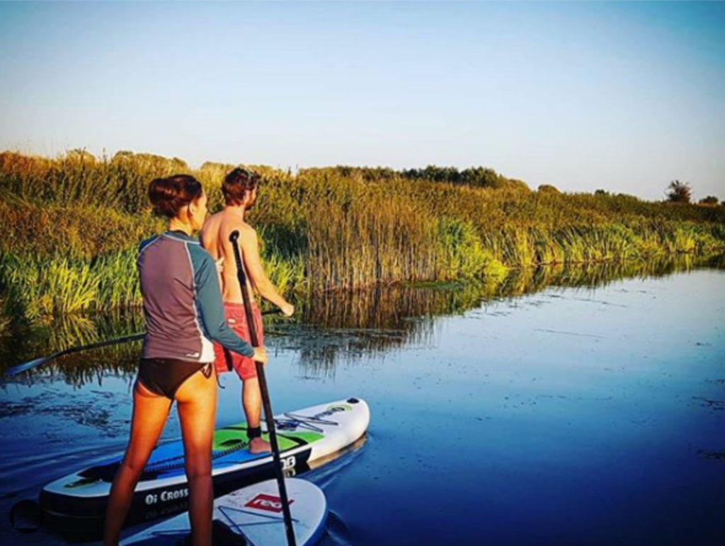 paddle boarding near me River Parrett