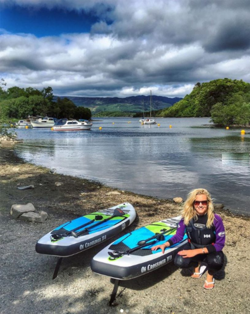 Paddle boarding near me Loch Lomond