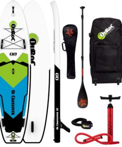 Quroc Crossover 12 Paddle Board Package